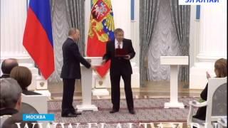 В.Тебекову присвоено звание «Заслуженный художник РФ»