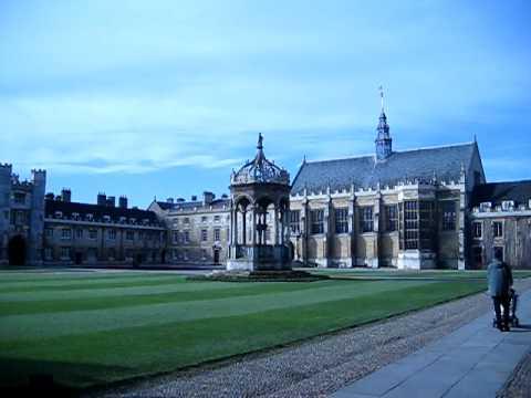 Trinity College, Cambridge (UK) - Inside Trinity College, Panoramic Video
