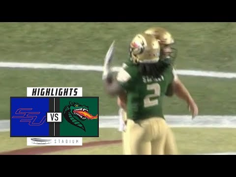Savannah State vs UAB Football Highlights (2018) | Stadium