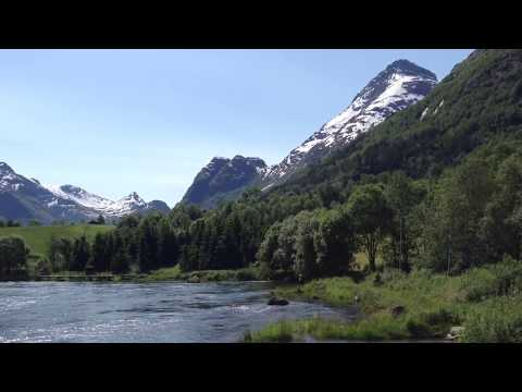 Ceciliekrona and Olden River, Norway