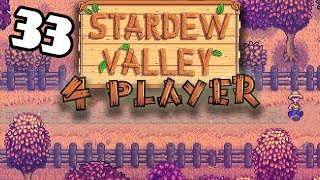 First of Fall - #33 -Stardew Valley Multiplayer BETA! (4-Player Gameplay)
