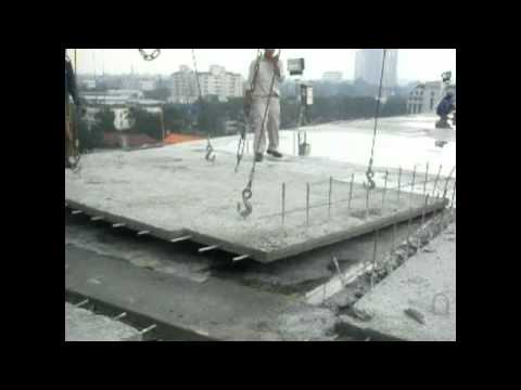 Half Slab Precast 2 Youtube