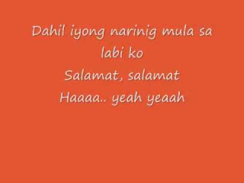 Yeng Constantino - Salamat Lyrics