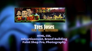 Tres Joses Tex Mex – 2010 Restaurant Website