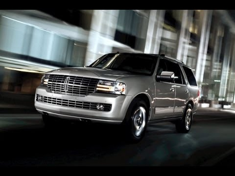 2013 Lincoln Navigator Start Up and Review 5.4 L V8