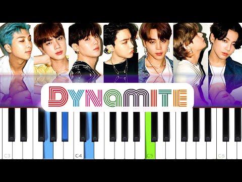bts---dynamite-|-piano-tutorial