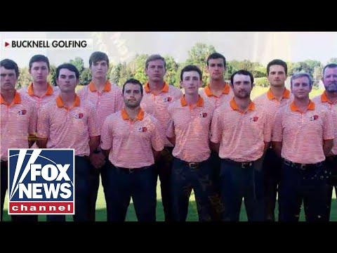 Bucknell university golfers honor America's fallen heroes