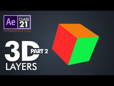 3D Layers in After Effects Part 2 - اردو / हिंदी