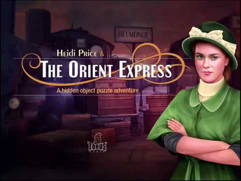 THE ORIENT EXPRESS GAME Gameplay | iOS Story Walkthrough | Location 1 and 2