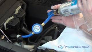 Car Air Conditioner Recharge - Simple