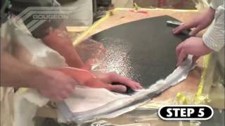How to build a carbon fibre skimboard with WEST SYSTEM® epoxy