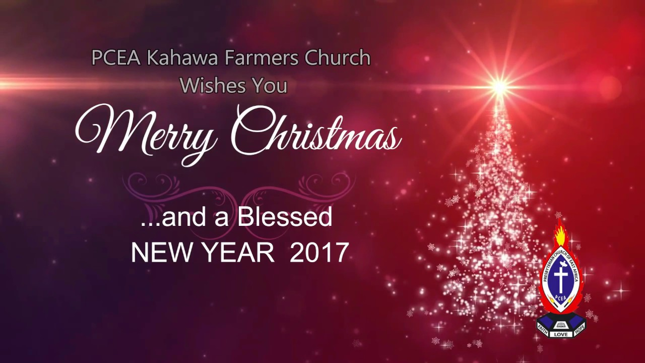 Merry Christmas and a Blessed new year 2017 - YouTube