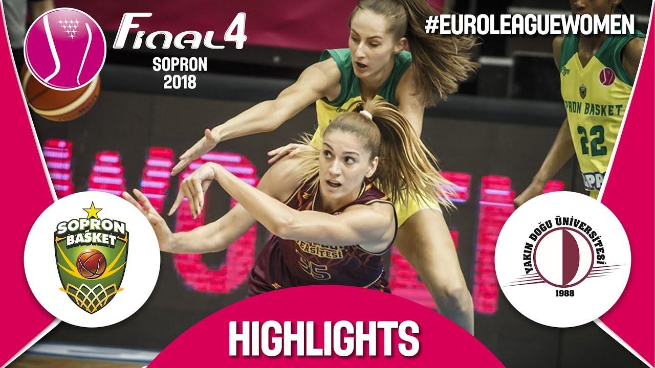 Sopron Basket v Yakın Doğu Üniversitesi - Highlights - Semi-Final