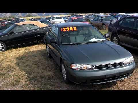 1995 subaru legacy sedan front wheel drive for sale 164k  $2943