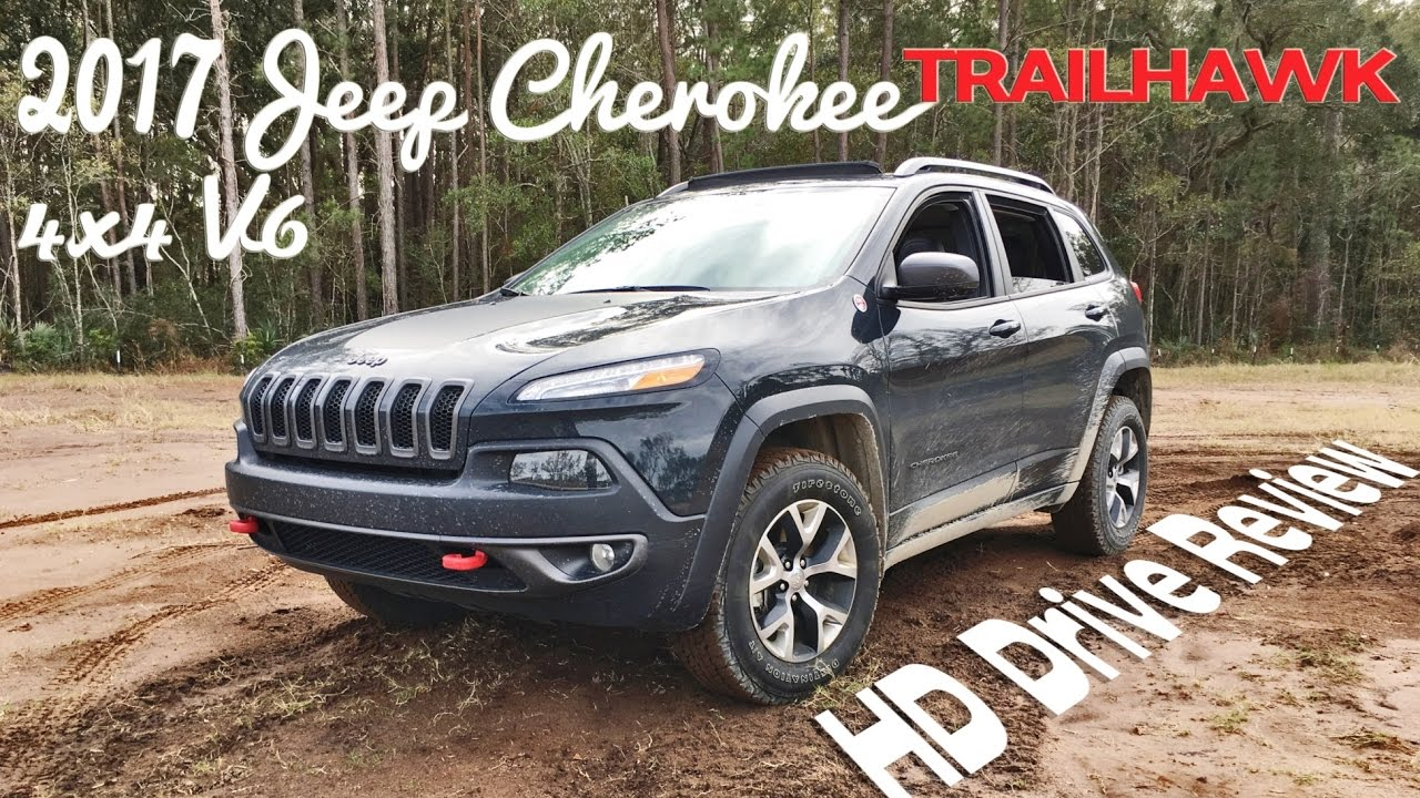 Hd Drive Review 2017 Jeep Cherokee Trailhawk V6 4low And Rear Diff Locked You