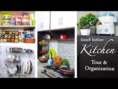 Indian Kitchen Tour / Kitchen Tour | Small Kitchen Organization Ideas