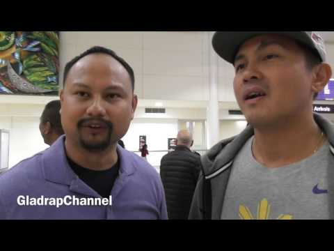 Manny Pacquiao's Body Guard Security Interview