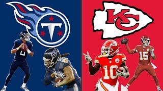 Tennessee Titans vs Kansas City Chiefs Playoff Highlights! (Madden 20 Simulation)