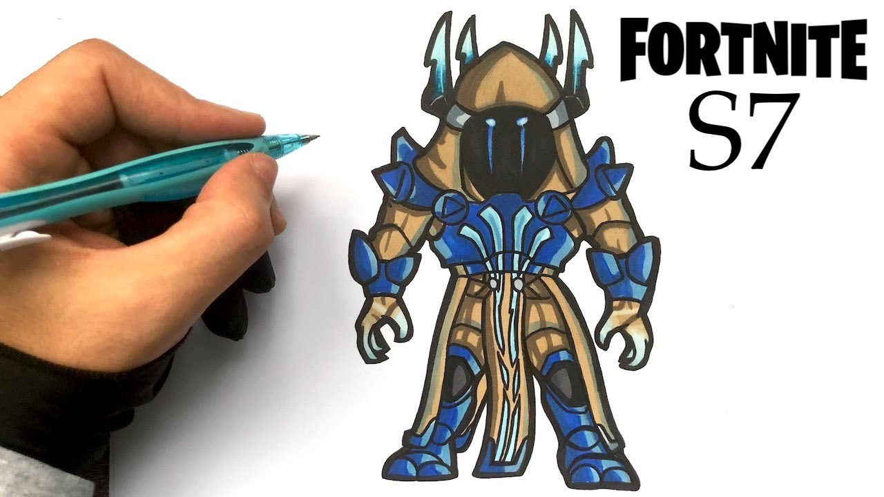 How To Draw Ice King Fortnite S7