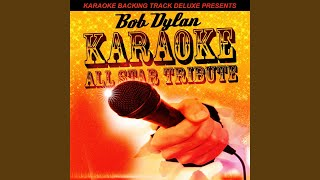 Provided to by ingrooves forever young (in the style of bob dylan) (karaoke version) · karaoke all star backing track deluxe presents: dy...