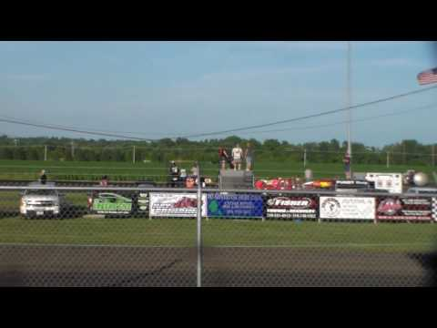 Stock Car Heat 1 @ Benton County Speedway 07/02/17
