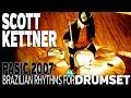 Scott Kettner: Northeastern Brazilian Rhythms for Drumset, Part 1