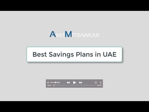 Best Savings Plans in the UAE