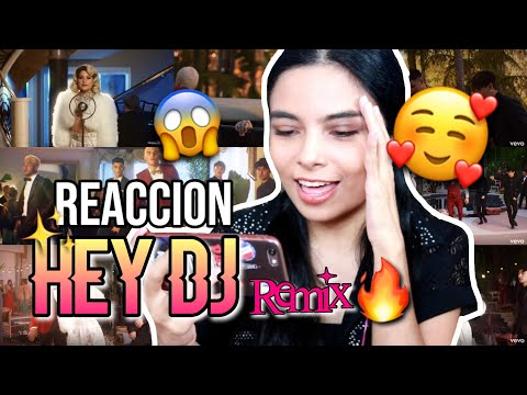 "REACCION AL VIDEO ""HEY DJ REMIX"" CNCO, MEGHAN TRAINOR, SEAN PAUL - FerMontalvan"