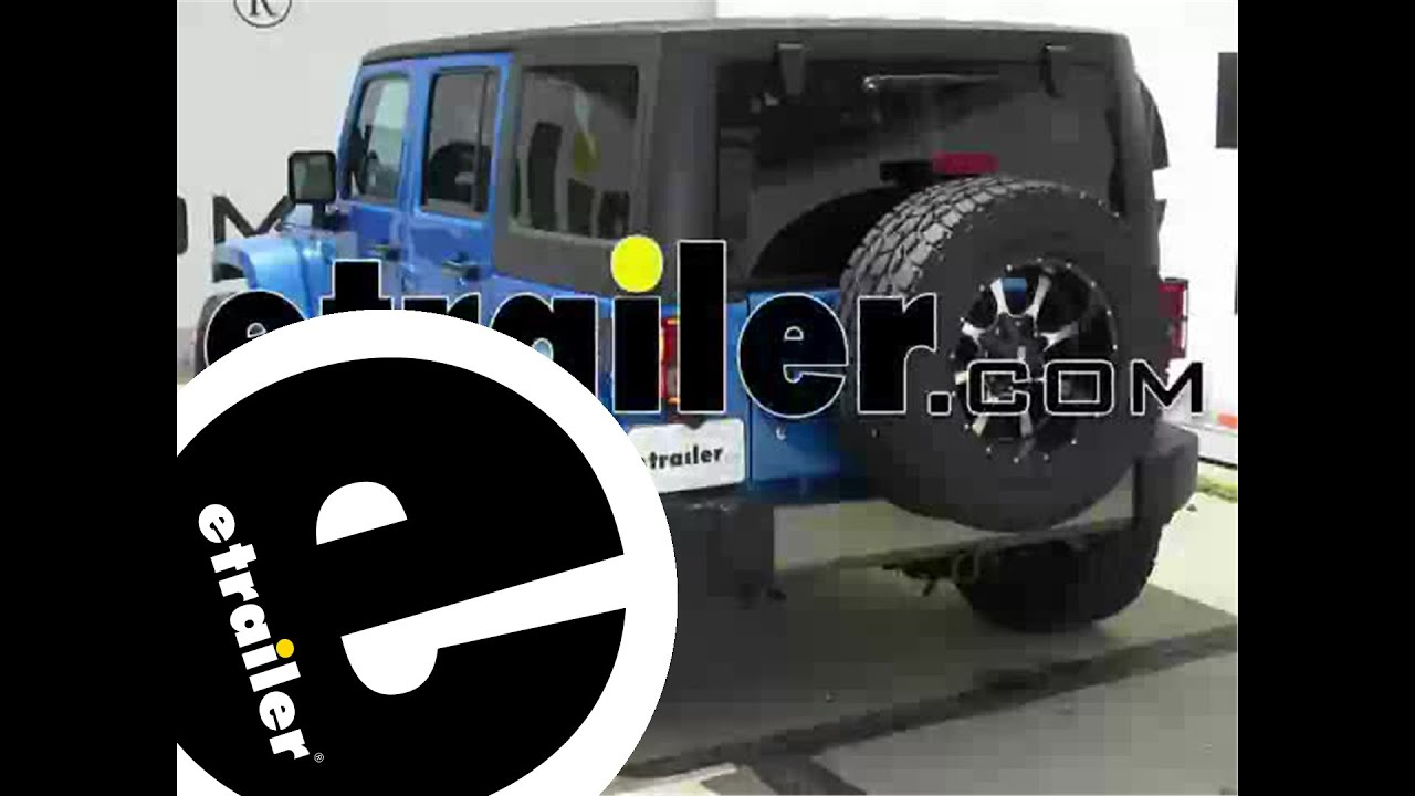 install trailer wiring 2014 jeep wrangler unlimited 118416 rh youtube com  trailer wiring harness for 2015 jeep wrangler