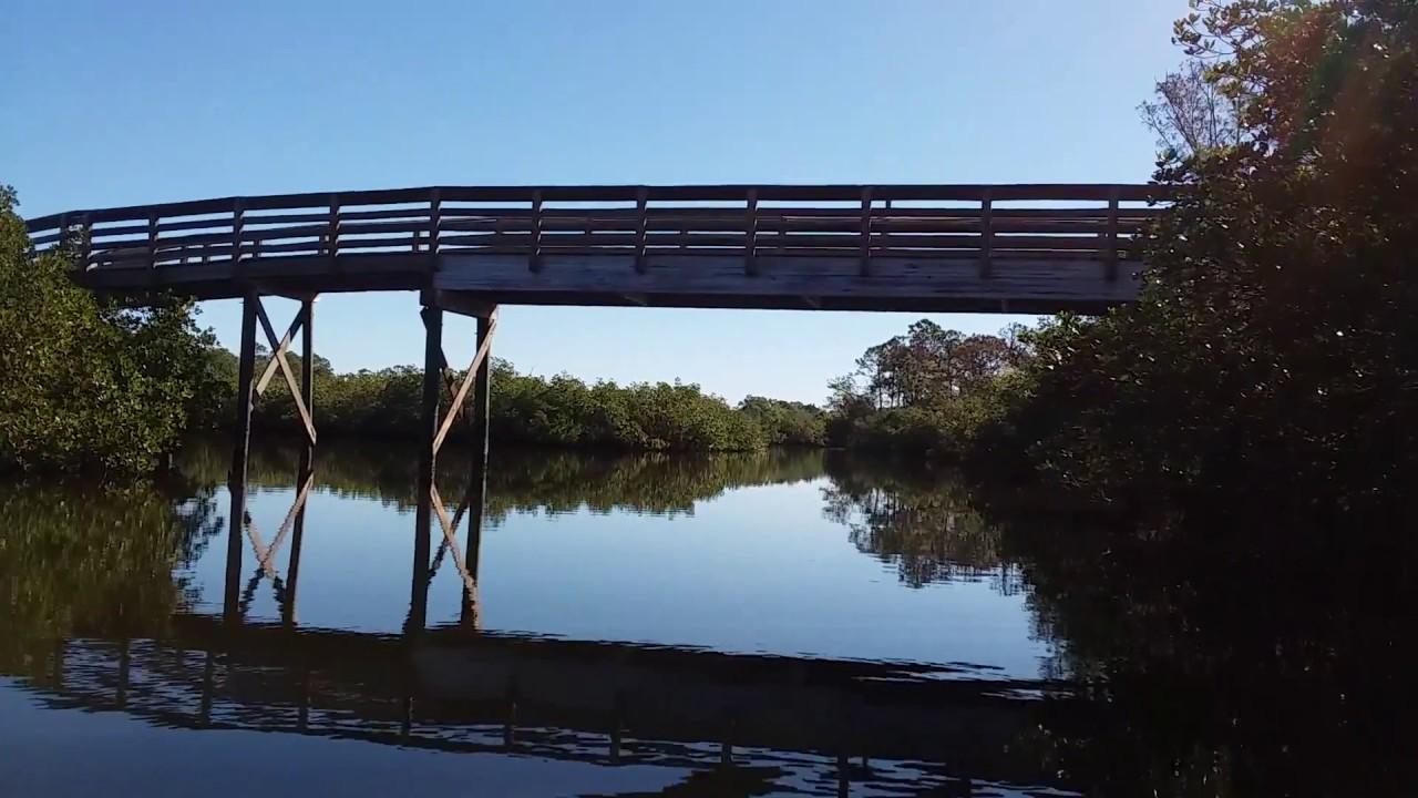 Kayaking Oyster Creek in Englewood, FL - YouTube