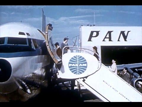 Pan American Boeing 707 Promo Film - 1958
