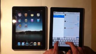 iOS 5 vs iOS 4 The Differences-iPad Part 1