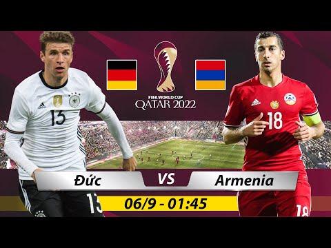 Soi Kèo Trận Đấu ĐỨC vs ARMENIA | Nhận Định Kèo Bóng , Trực Tiếp vòng loại WC 1h45 ngày 6/9