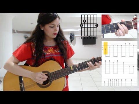 Cómo Tocar Un Poco Loco De COCO I Tutorial Guitarra