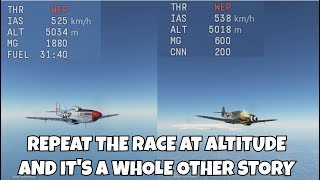 What can Germany do? | P51D30 vs Bf109K4 | Adam514 rebuttal