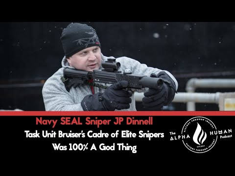 Task Unit Bruiser's Cadre of Elite Snipers Was 100% A God Thing - Navy SEAL Sniper JP Dinnell