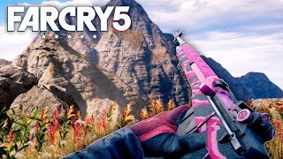 Far Cry 5 - MS16 HUNTING & CUSTOMIZATION (Far Cry 5 Free Roam) #26