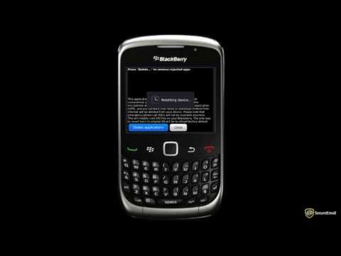 App Removal Tool for BlackBerry