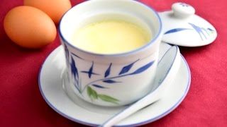 Repeat youtube video How to Make Steamed Egg Custard | Steamed Eggs With Milk Dessert Recipe ★ 蒸蛋秘訣 ★ 超香超滑~ 牛奶燉蛋 雞蛋布丁