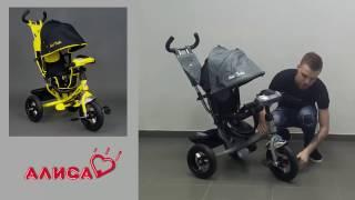 видео Детские трехколесные велосипеды