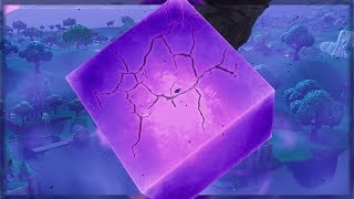 Fortnite CUBE CRACKING OPEN RIGHT MAINTENANT - France CUBE CRACKING OPEN EVENT ( Fortnite Fortnitemares Gameplay )