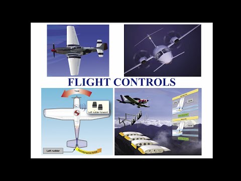 Private Pilot Tutorial 5: Flight Controls