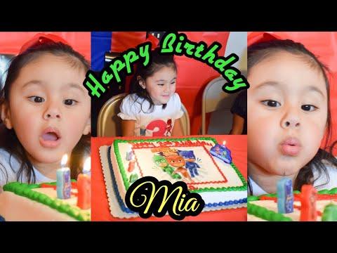 Mia's 3rd Birthday Party!