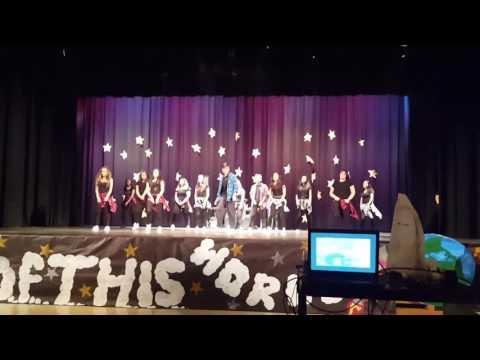 San Fernando High School Dance Team