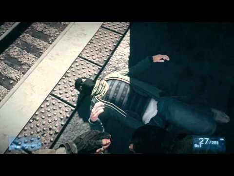 Battlefield 3 - all QTE failures and deaths (HD)  