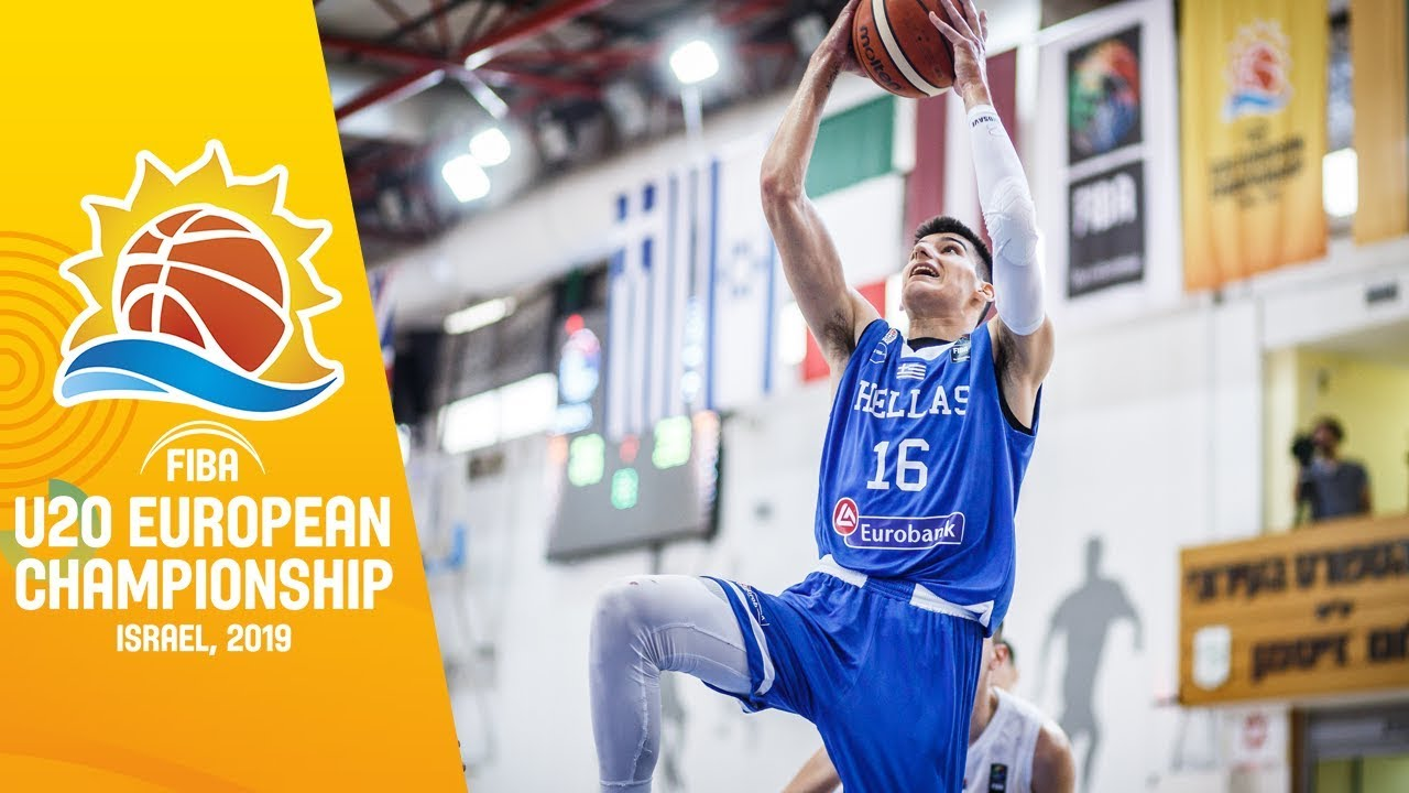 Slovenia v Greece - Full Game - FIBA U20 European Championship 2019