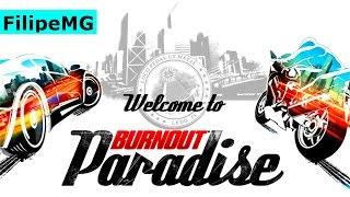 Burnout Paradise xbox FUNCÃO ONLINE E COM NOVAS MODALIDADES
