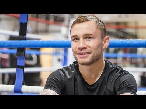 CARL FRAMPTON ON WEIGHT For Warrington,: Muscle Mass UP Bodyfat DOWN