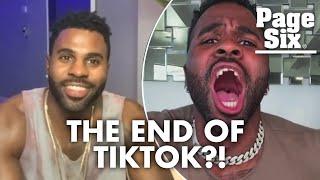 Jason Derulo reacts to Trump's proposal to ban TikTok | Page Six Celebrity News