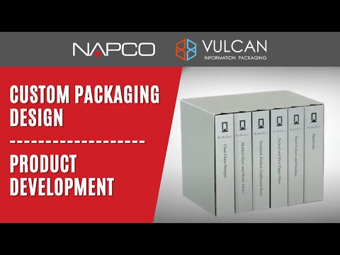 Custom Packaging Design And Product Development - Vulcan Information Packaging